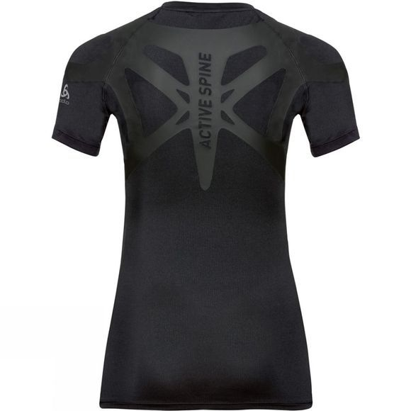 Odlo Womens Active Spine Light Base Layer Top Black