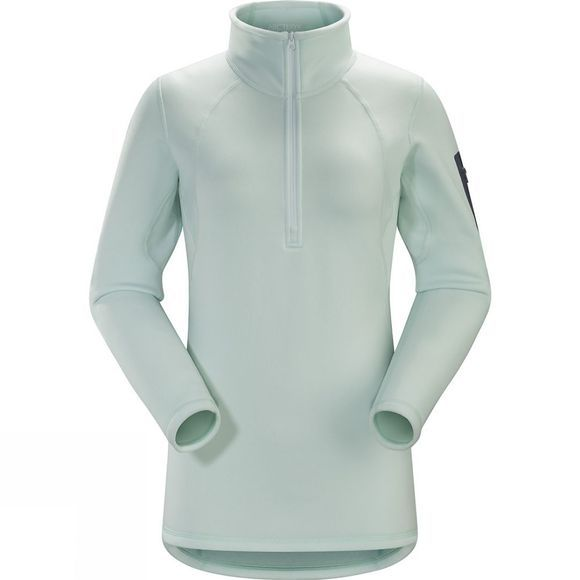Arc'teryx Women's Rho AR Zip Neck Dew Drop