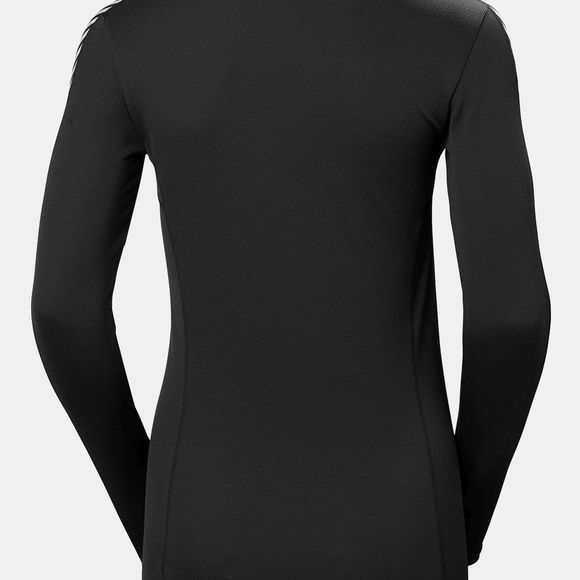 Helly Hansen Womens Lifa Crew Top Black