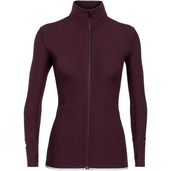 Womens Descender Long Sleeve Zip