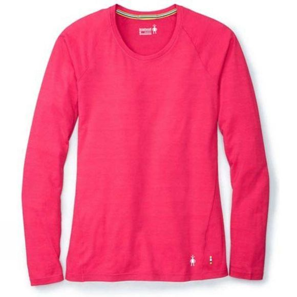 SmartWool Womens Merino 150 Baselayer Pattern Long Sleeve Potion Pink