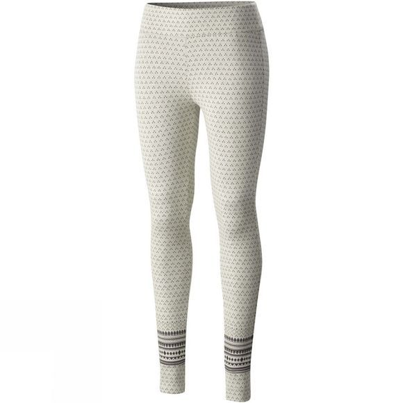 Columbia Womens Aspen Lodge Jacquard Leggings Chalk