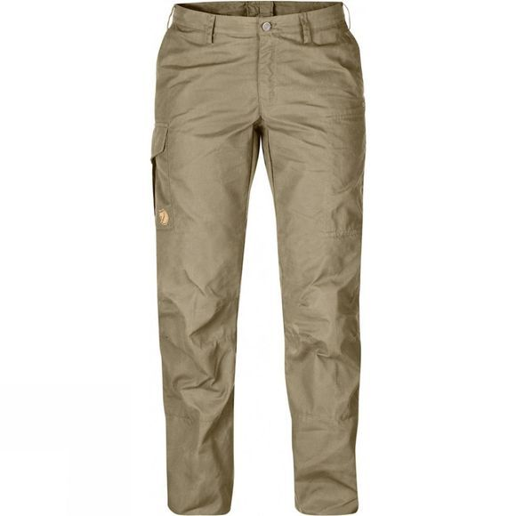 Fjallraven Womens Karla Pro Trousers Curved Savanna