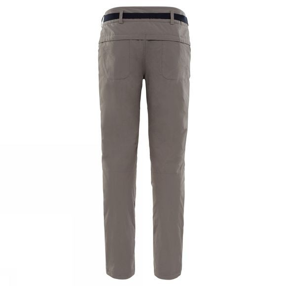The North Face Womens Exploration Insulated Trousers Weirmaraner Brown