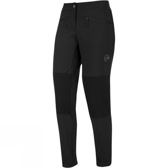Mammut Womens Pordoi SO Pants Black