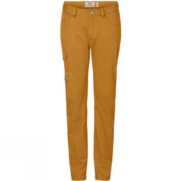 Fjallraven Womens Greenland Stretch Trousers Acorn
