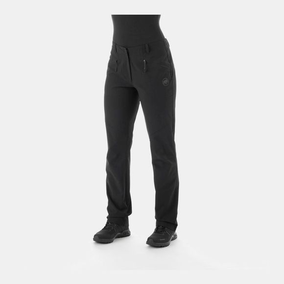 Mammut Womens Macun Pants Black