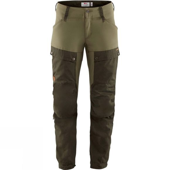 Fjallraven Womens Keb Trousers Deep Forest / Laurel Green