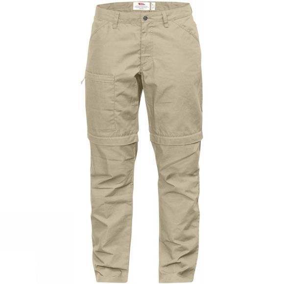 Fjallraven Womens High Coast Zip-Off Trousers Limestone