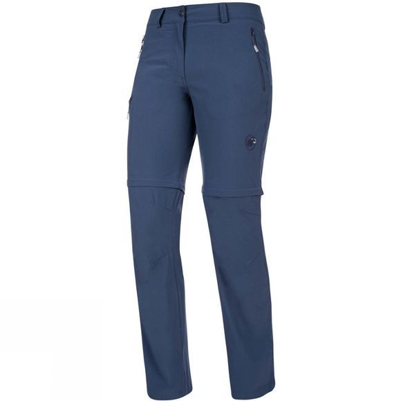 Mammut Womens Runje Zip Off Pants Jay