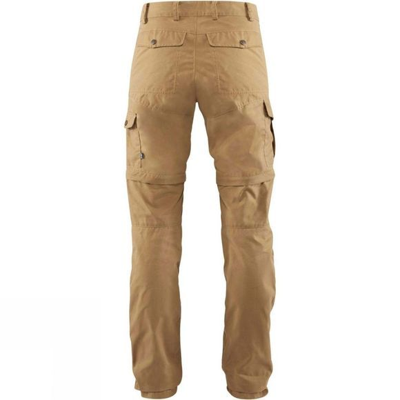 Fjallraven Womens Karla Pro Zip-Off Trousers Dark Sand
