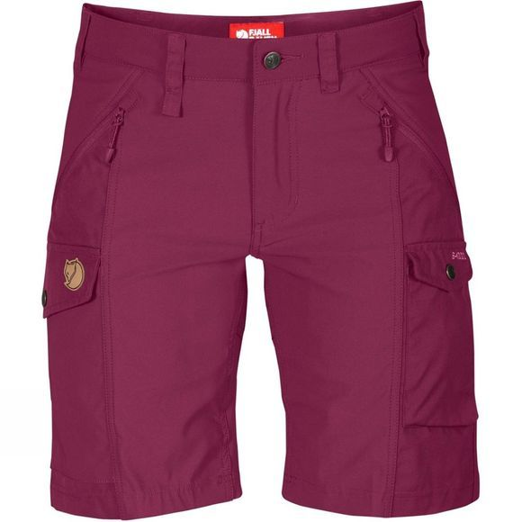 Fjallraven Womens Nikka Shorts Plum