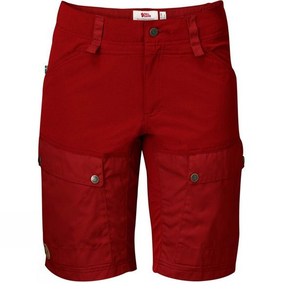 Fjallraven Womens Keb Shorts Lava