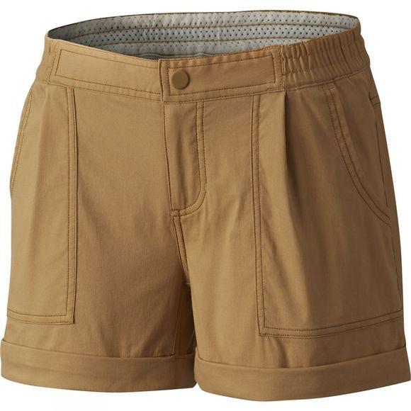 Mountain Hardwear Womens AP Scrambler Shorts Buck