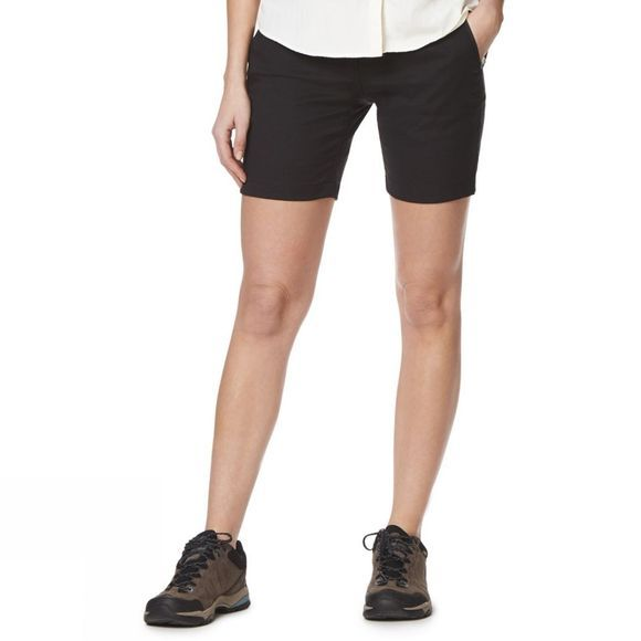 Craghoppers Womens Kiwi Pro II Shorts Black