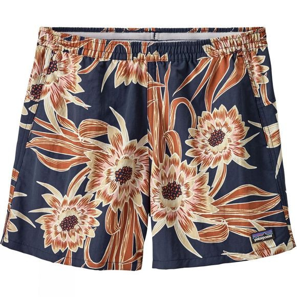 Patagonia Womens Baggies Shorts Cerus Flower:Classic Navy