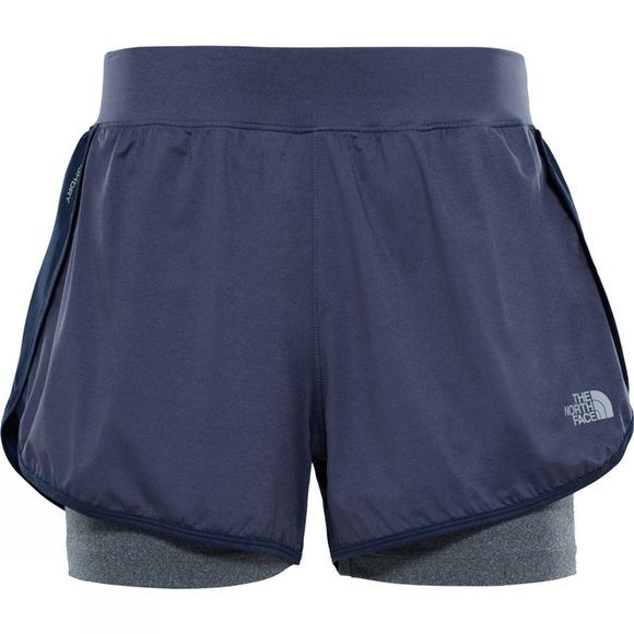 The North Face Womens Versitas 2 in 1 Shorts Urban Navy/ TNF Medium Grey Heather