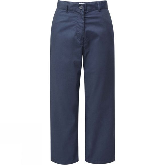 Craghoppers Womens Nosi Crop Trousers Soft Navy