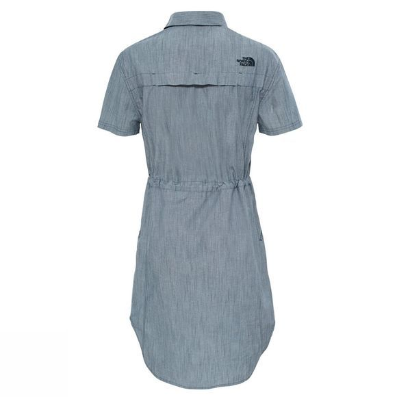 The North Face Women's Cagoule Short Sleeve Shirt Dress Urban Navy
