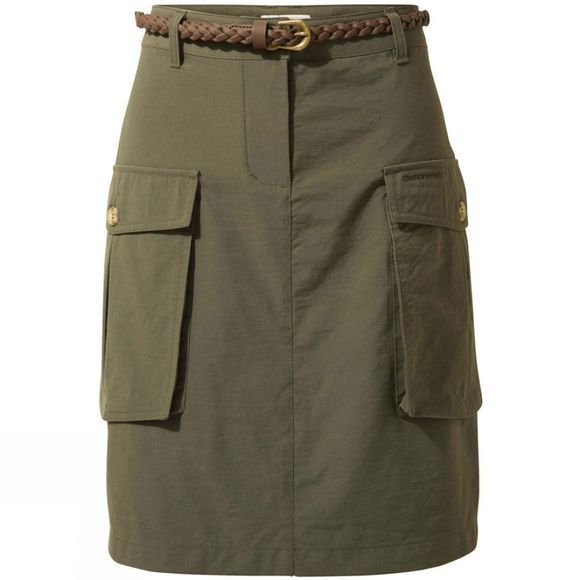 Craghoppers Womens Nosilife Savannah Skirt Mid Khaki