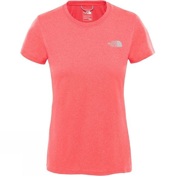 The North Face Women's Reaxion Amp Crew Atomic Pink Heather