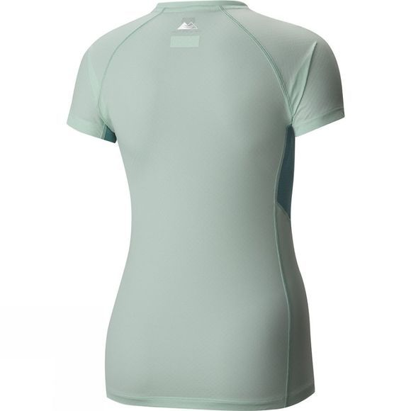 Columbia Womens Titan Ultra Short Sleeve Shirt Sea Ice