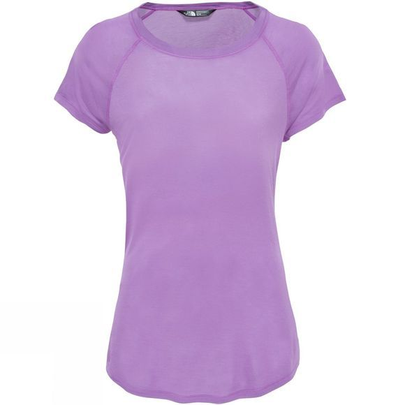 The North Face Womens Versitas Short Sleeve Top Sweet Violet