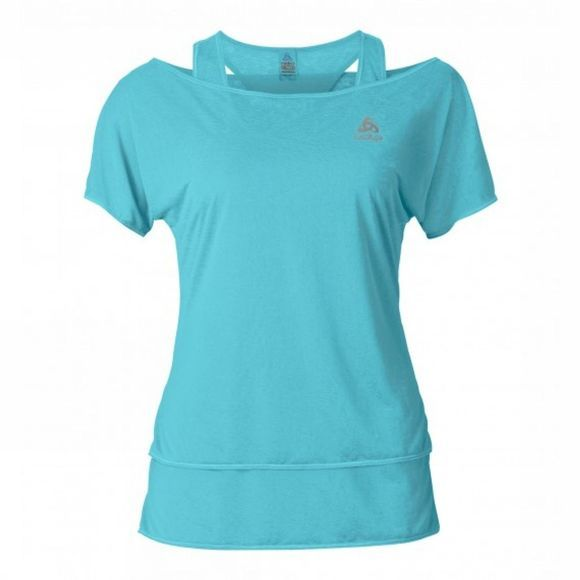 Womens Hologram 2 in 1 T-Shirt