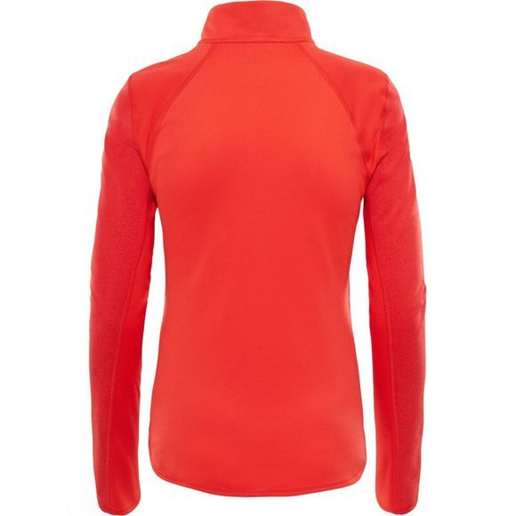 The North Face Womens Motivation 1/4 Zip Juicy Red