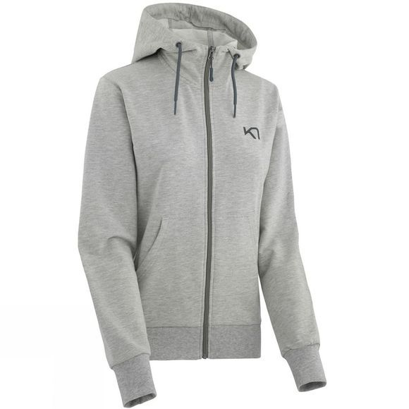 Kari Traa Womens Traa Hoodie Light Grey