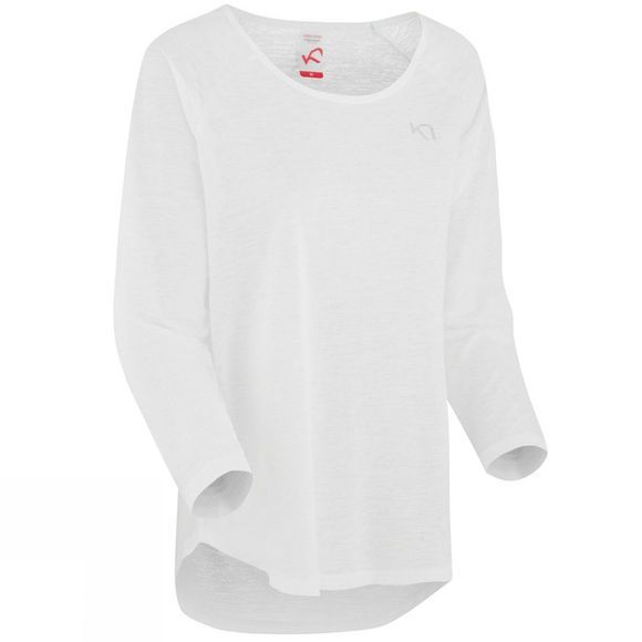 Kari Traa Womens Pia Long Sleeve Tee White