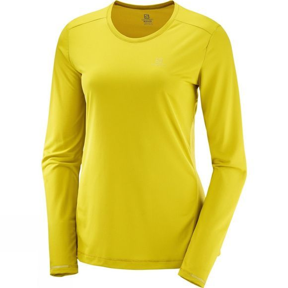Salomon Womens Agile Long Sleeve T-shirt Antique Moss