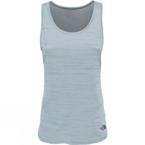 The North Face Womens Motivation Stripe Tank TNF Black Heather