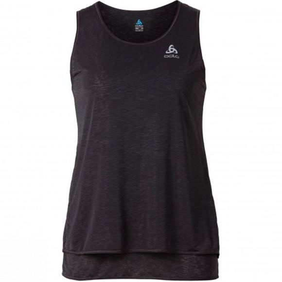 Odlo Women's Hologram Vest Odlo Graphite Grey