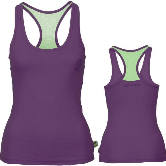 Edelrid Womens Signature Tank Elderberry