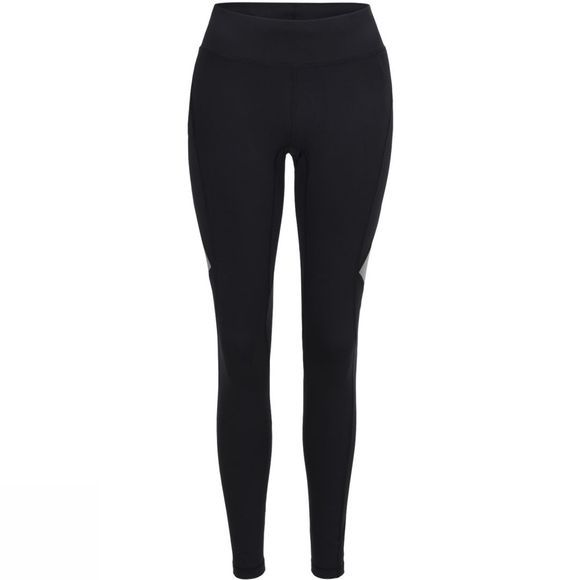 Peak Performance Womens Block Reflective Tights Black/Reflective Pritn