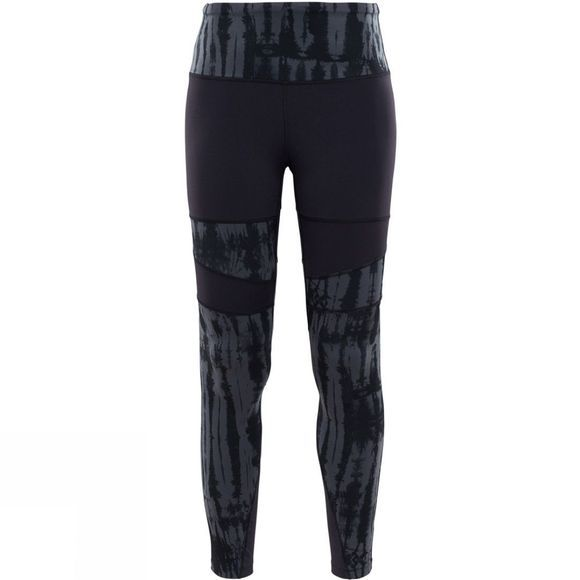 The North Face Womens High Rise Motivation Printed Tights TNF Black Shibori Print