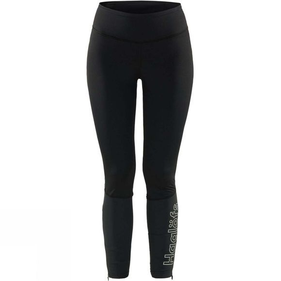 Haglofs Womens L.I.M Comp Tights True Black / Stone Grey