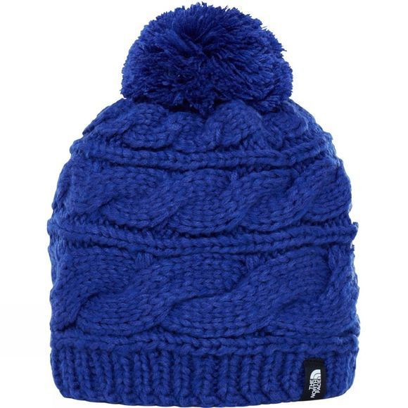 The North Face Triple Cable Pom Beanie Inaguration Blue