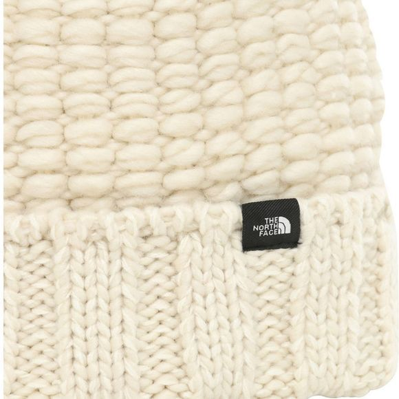 The North Face Cosy Chunky Beanie Vintage White