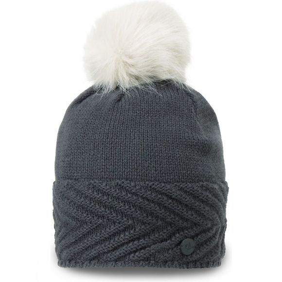 Craghoppers Womens MarInteractive Knit Hat Charcoal Marl
