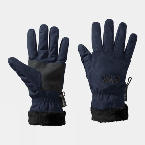 Jack Wolfskin Womens Stormlock Highloft Glove Midnight Blue