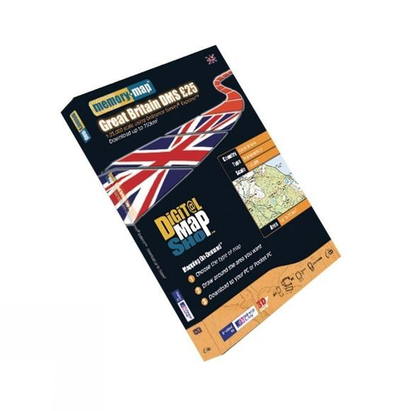 Digital Map Shop Explorer £25