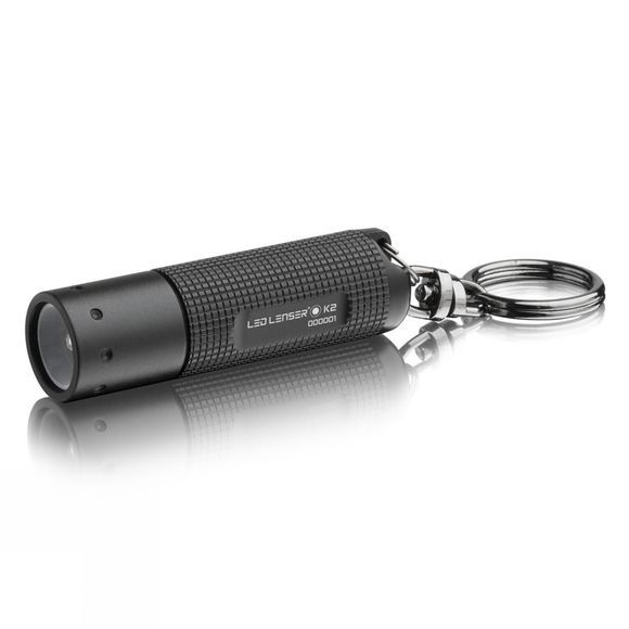 LED Lenser K2 Keyring Torch Black