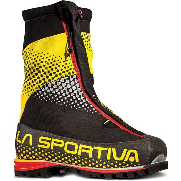 La Sportiva Men's G2 SM Boot Black/Yellow