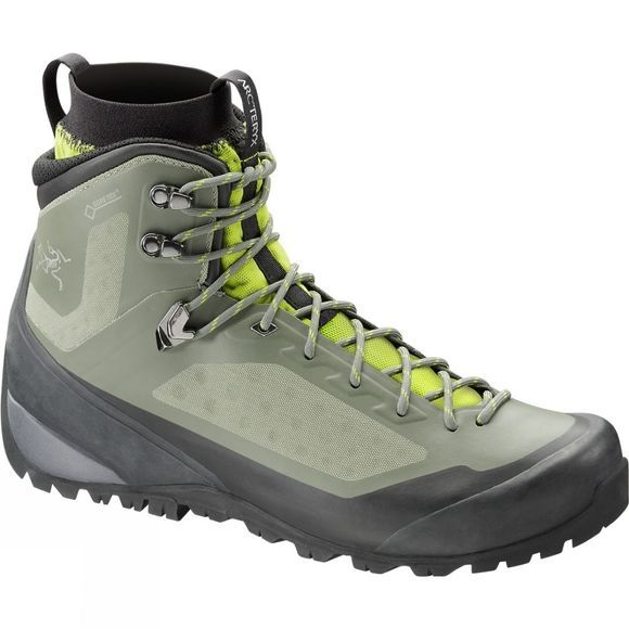 Arc'teryx Men's Bora Mid GTX Boot  Tundra/Reed Green