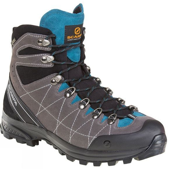 Scarpa Mens R-Evo GTX Boot Titanium/Lake Blue