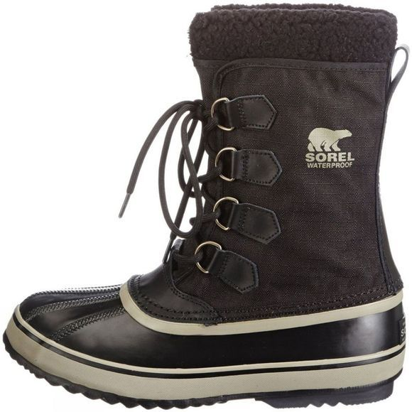 Sorel Men's 1964 Pac Nylon Boot Black/Tusk