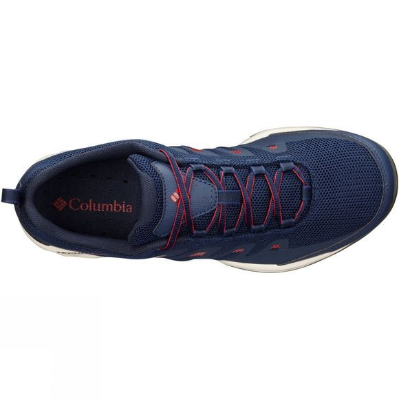 Columbia Mens Vapour Vent Shoes Collegiate Navy, Mountain Red