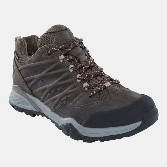 The North Face Mens Hedge Hike II Mid Gore-Tex Shoes Tarmac Green/Burnt Olive Green
